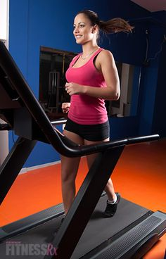 Burn Fat with Treadmill Intervals