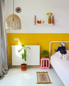 Colours of Summer in the Kid s Room Kinderzimmer Ideen Kinderzimmer Kinderzimmer Wandgestaltung Kinderzimmer einrichten Kids Room Kids Room Decor Bedroom Wall, Kids Bedroom, Room Kids, Kids Room Paint, Decor Room, Bedroom Decor, Bedroom Ideas, Bedroom Designs, Nursery Ideas