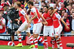 Ramsey steals three points. Well done rambo. #COYG