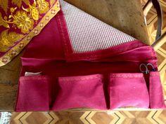Antiglisse pour tapis et poches à rangements Madewell, Tote Bag, Fashion, Storage, Pockets, Sewing, Carpet, Moda, La Mode