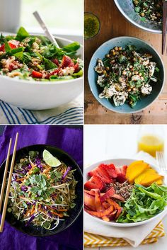26 Quinoa Salads That'll Save You From a Sad Desk Lunch