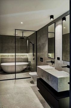 38 principles for creating the perfect bathroom 9 | megasiana.com #bathroominterior #interiordesign #bathroomideas