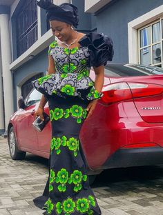 2019 Lovely and Trendy Ankara Skirt and Blouse Styles African Lace Styles, Short African Dresses, Latest African Fashion Dresses, African Print Dresses, African Print Fashion, Ankara Styles, Ankara Skirt And Blouse, Lace Skirt And Blouse, African Print Dress Designs