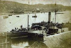 Paddle Steamer Mary Jane at Tarbert Loch Fyne in 1856