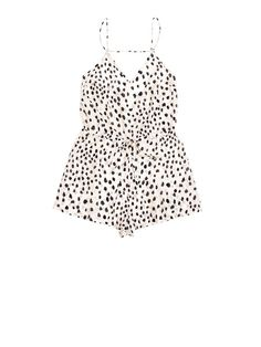 Rouleau strap teddy - Nude dot