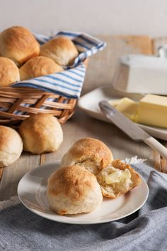 Quick Buttermilk Yeast Rolls | Light and fluffy buttermilk yeast rolls - made from scratch, with love. Serve warm with your favorite every-day dinner or special occasion meal.