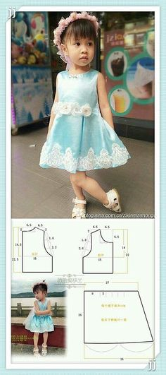 Are you ready for the perfect gift or a baby or toddler? Learn how to sew these Easy DIY baby headband pattern free sewing, This Knot Bow Headband Baby Dress Patterns, Baby Clothes Patterns, Kids Patterns, Clothing Patterns, Sewing Patterns, Sewing For Kids, Baby Sewing, Dress Anak, Little Girl Dresses