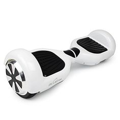 Bluefin Classic Hoverboard Swegway Self Balancing Scooter – White, 6.5″