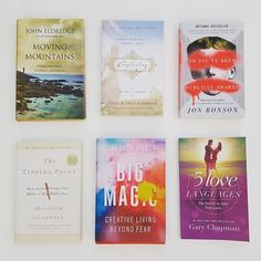 Six books I've read in 2017 so far! All six were great and I would recommend all of them. Have you read any of these books? What books would you recommend next? 1. Moving Mountains by John Eldredge - http://amzn.to/2lwBkQ4 If you've ever wondered why we pray, how to pray or why some prayers get answered and others don't, then this is the book for you. John Eldredge is one of my favorite authors, and this book is a great resource for some very tough questions! 2. Captivating by John & Stasi…