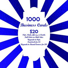 You can still get 1000 #BusinessCards for only $20 from The Most Innovative Marketing Company @inkgility