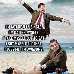 I'm single by choice. Not my choice, but still... Follow @9gag @9gagmobile #9gag #single #mrbean #relatable #lol #L4L #instafollow #funny #tagforlikes