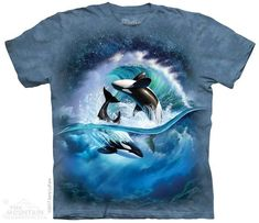 Orca Wave Kids T-Shirt