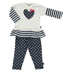Baby Mädchen 2er Set shirt+Legging