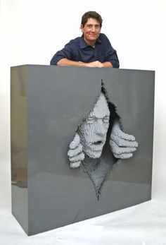 Lego art... absolutely amazing!  http://bit.ly/9GP6vY