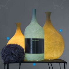In-es.artdesign - Luce Liquida 2 - Lampada da tavolo di design | Light Shopping