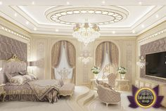 Villa Interior Design in Dubai, Saudi Arabia Madina Monaowara, Photo 36