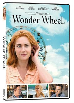 Wonder Wheel (2017) ... Four peoples' lives intertwine amid the hustle & bustle of the Coney Island amusement park in the 1950's: Ginny (Kate Winslet), an emotionally volatile former actress now working as a waitress in a clam house; Humpty (Jim Belushi), Ginny's rough-hewn carousel operator husband; Mickey (Justin Timberlake), a handsome young lifeguard who dreams of becoming a playwright & Carolina (Juno Temple), Humpty's long-estranged daughter, now hiding out from gangsters…