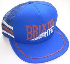 e4e7b4297c5 Coventry Snap Back Hat by Brixton- ROYAL   ORANGE Snap Backs