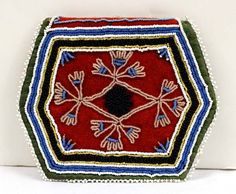 Iroquois Turn of the Century Beaded Pouch : Lot 2478