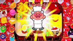 バタコさんのおべんとうキッチン❤ クリスマス♪ おやこでやったね!できたね!それいけ!アンパンマン アニメ ゲーム Anpanman Japan...