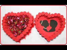 Coma fazer um coração com rolinhos de EVA para o dia dos namorados - YouTube