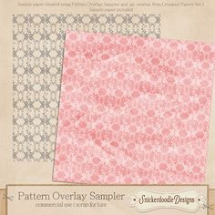 Pick up this Free Sample Overlay on my blog.  There's also a quick tutorial on a great way to use it! #SnickerdoodleDesigns