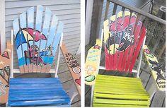 Painted Adirondak Chairs!