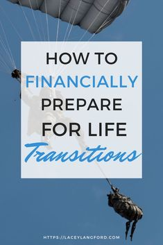 Poor planning for transitions can cause a laundry list of problems. That's why you must financially prepare for life transitions like deployments, marriage and career changes. Life Transitions, Career Change, Financial Planning, You Must, Money Management, Personal Finance, Budgeting, Laundry, Marriage