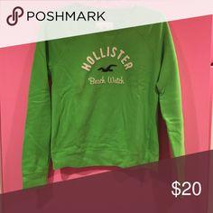 NWOT Hollister crew neck sweatshirt New, never worn. Hollister Tops Sweatshirts & Hoodies