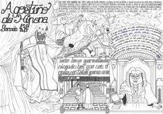 Interpretación de Maria García (2º de Bacharelato) sobre un texto de Santo Agostiño de Hipona (Sermón 43)©