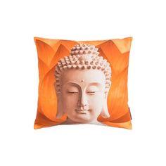 Kissen Buddha orange