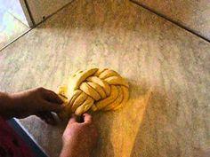 Mazanec pletený ze 6  pramenů