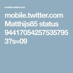mobile.twitter.com Matthijs85 status 944170542575357953?s=09
