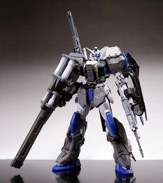 MG 1/100 Duel Gundam Assault Shroud Custom Build - Gundam Kits Collection News and Reviews