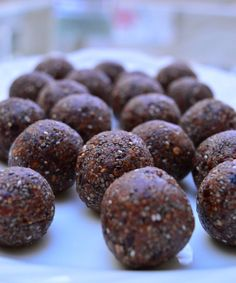 Thermomix Chocolate Chia Energy Bites