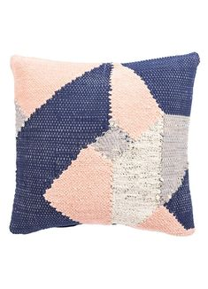 Cosmic Pillow in Candied Ginger & Pink Sand design by Nikki Chu