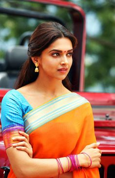 Deepika Padukone - Chennai Express Her expressions in this movie is just wow! Makes you fall in love with her bubbly character...