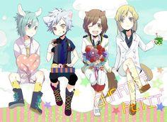 Quartet ☆ Night  - uta-no-prince-sama Fan Art