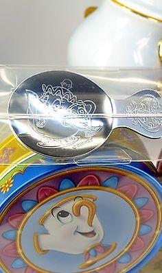 Disney Resort Limitada Beauty And The Beast A Sra. hawkish Pote E Conjunto De Xícara De Chá Chip