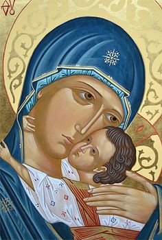 Clarisse S. I Love You Mother, Mother Mary, Religious Images, Religious Art, Jesus Art, Holy Mary, Holding Baby, Art Thou, Madonna And Child