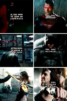 If you need to stop an asteroid you call Superman. If you need to solve a mystery you call Batman. But if you need to stop a war you call Wonder Woman. - Gail Simone