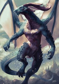 Beautiful pictures of dragons Dragon art and drawings Mythical Creatures Art, Mythological Creatures, Magical Creatures, Dark Fantasy Art, Fantasy Artwork, Guerrero Dragon, Legendary Dragons, Fantasy Beasts, Dragon Artwork