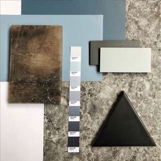 Mood Board Composition Tricks&Tips: A triangle always gets more attention. continue reading... #moodboard #moodboardacademy