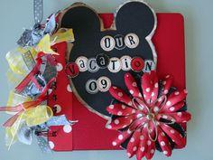 Disney Vacation mini album