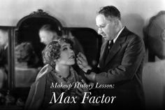 Makeup Masters: The History of Max Factor(this man did lucy's make up) 1920s Makeup, Vintage Makeup, Vintage Beauty, Elizabeth Taylor, Hair And Makeup Artist, Beauty Makeup, Hair Makeup, Makeup Artists, Marilyn Monroe