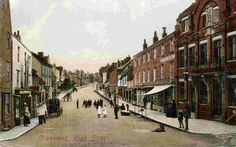 cranbrook england history | looking up the High Street