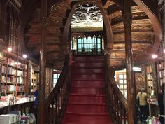 Bookstore Livraria Lello & Irmao, Porto. Harry Potter fanatics of all ages should make the pilgrimage to J.K. Rowling's former home away from home, Porto, if only in pursuit of the story's Muggle- world origin. Rowling taught English in Portugal's second city, and wrote some of the now-famous series around the time that she frequented Livraria Lello & Irmao's stained-glass upstairs cafe. The shop boasts breathtaking Gothic Revival and Art Nouveau architecture.