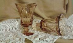 Vintage Fostoria Jamestown Amber Ice tea by VintageRusticFairy $12 plus $9 shipping