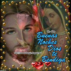 Good Night Prayer, Good Night Blessings, Good Night Wishes, Good Morning Quotes For Him, Good Morning Messages, Good Night Quotes, Amor Quotes, Holy Quotes, Spanish Prayers
