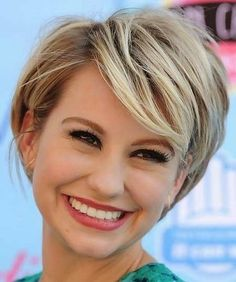 Love this cut, just don't have the face shape to wear it. Best Cute Short Haircuts 2014